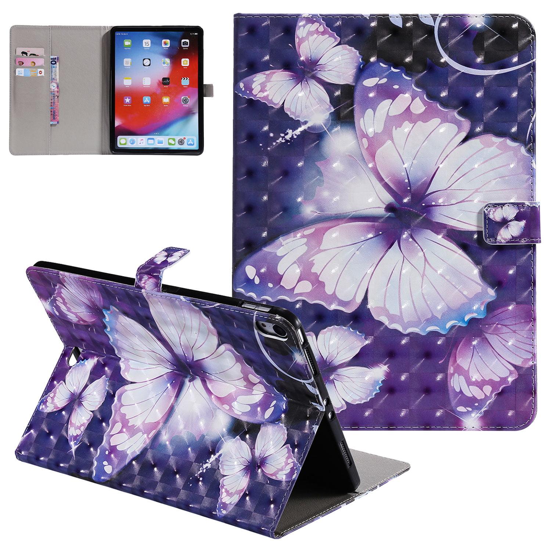 iPad Pro 11 Inch Case 2018, Allytech PU Leather 3D Cute ...