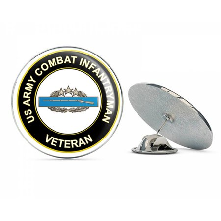 U.S. Army Combat Infantryman 4th Award Veteran Metal 0.75