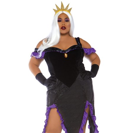 Leg Avenue Women's Plus Size Sultry Sea Witch Costume - Plus Size Costumes For Couples