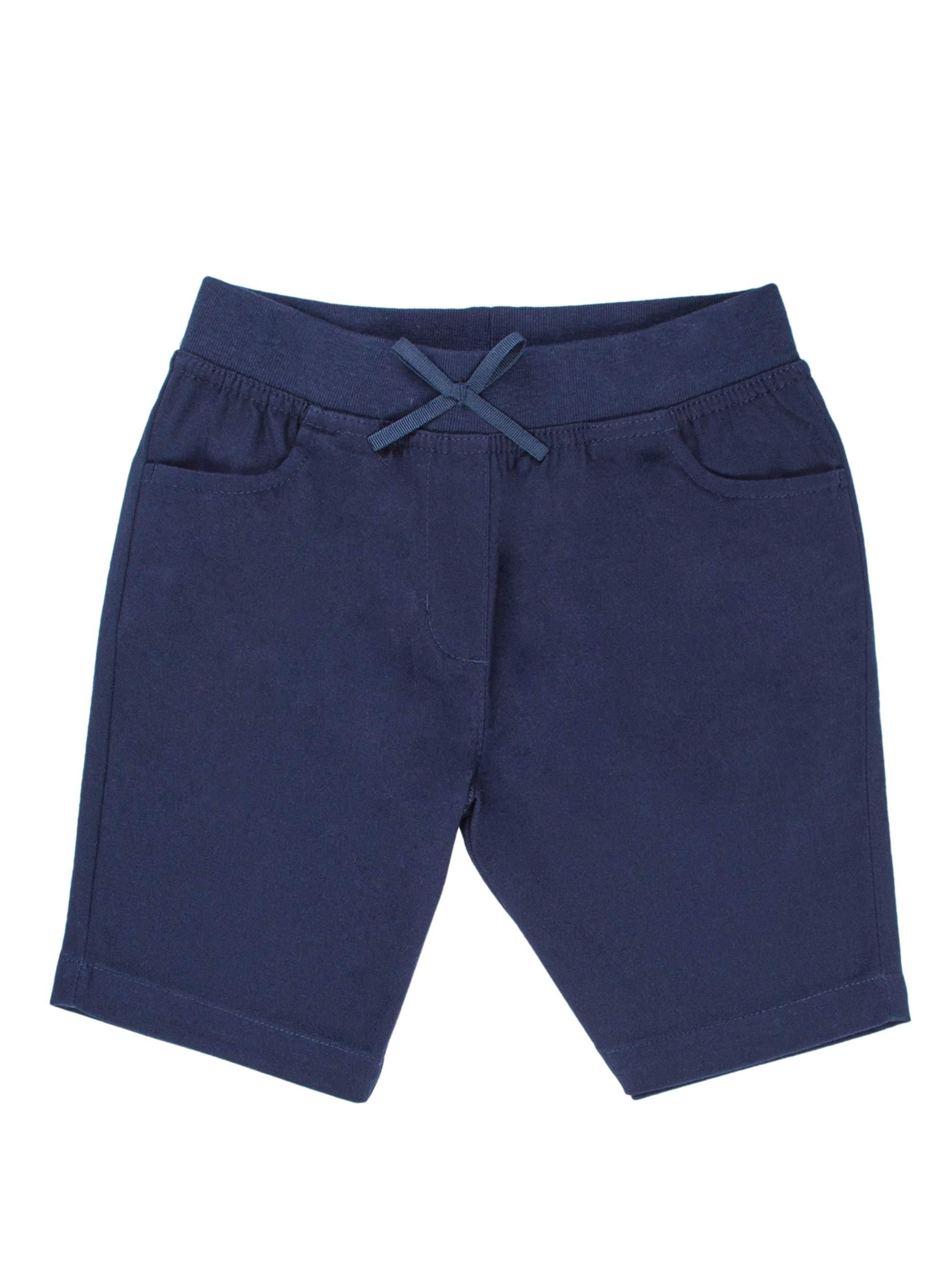 Toddler Girls School Uniform Pull-On Shorts