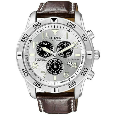 Citizen Eco-Drive Alarm Chronograph Perpetual Mens Watch BL5470-06A