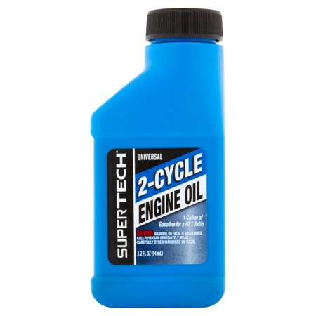 (3 Pack) Super Tech Universal 2-Cycle Engine Oil, 3.2 oz