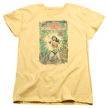 Trevco DC BESIEGED COVER Banana Adult Female T-Shirt](Adult Female)