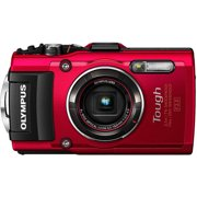 Olympus Red Tough TG-4 16MP Compact System Digital Camera with 16 Megapixels, 4x Optical Zoom and 4.5-18mm Lens Included