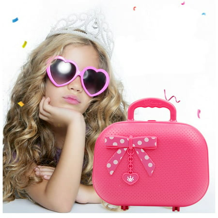 Kids Make Up Toy Pretend Play Set Deluxe Princess Girl's Makeup Palette Kit Christmas Gift ()