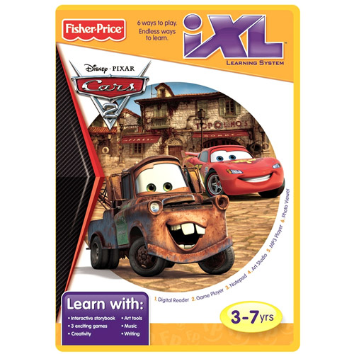 Fisher-Price iXL Software Cars 2
