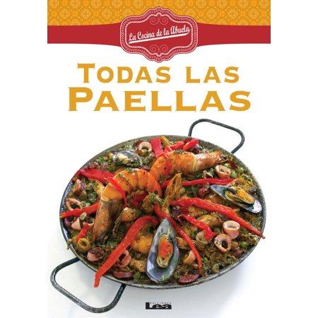 Todas las Paellas - eBook