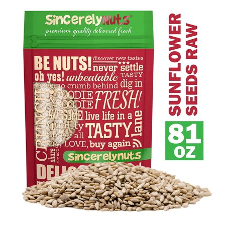 Sincerely Nuts Sunflower Seeds Raw (No Shell) 5 LB Bag (Spanish Sunflower Seeds)