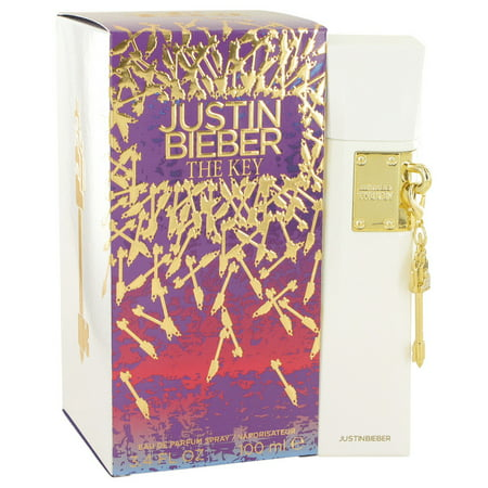 Justin Bieber The Key Eau De Parfum Spray for Women 3.4 oz