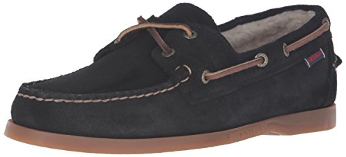 Sebago Men's Dockside Shearling Boat Shoe by Sebago