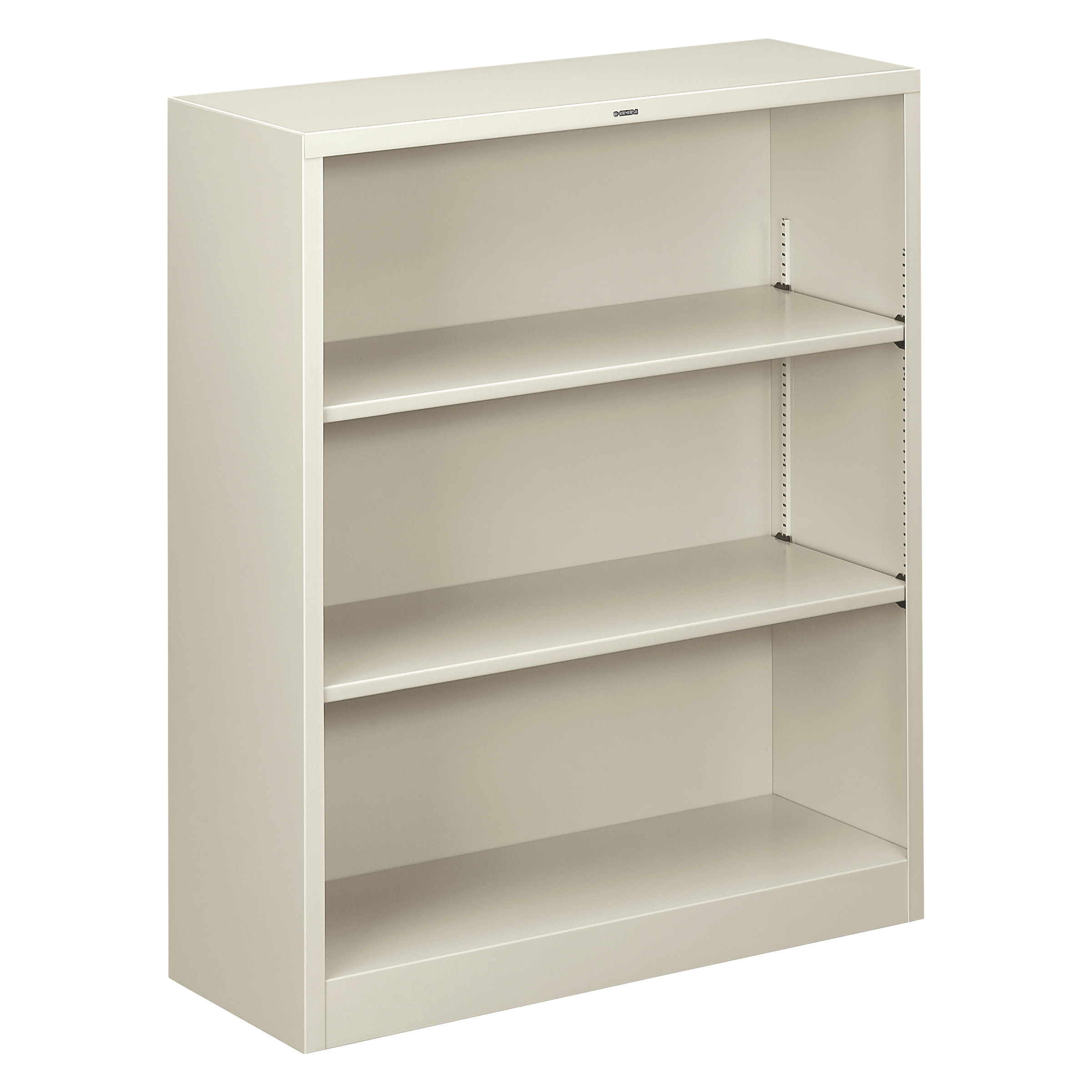 dp hon view bookcases metal amazon bookcase with two com shelves larger
