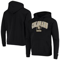 Men's Russell Athletic Black Colorado Buffaloes Classic Hit Pullover Hoodie