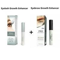 ce76238155a Product Image WALFRONT 1PC Longer & Darker Eyebrow Growth Essence Serum +  1PC FEG Eyelash Growth Nourishing Serum