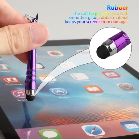 10-Piece Colorful Universal Touch Screen Stylus Pens For iPhone XS Max XR X 8P 7 6S Plus, Samsung Galaxy S10 S10 Plus S9 S8 Note 9/8/5 J7, More Smartphone & Tablets - image 1 of 9