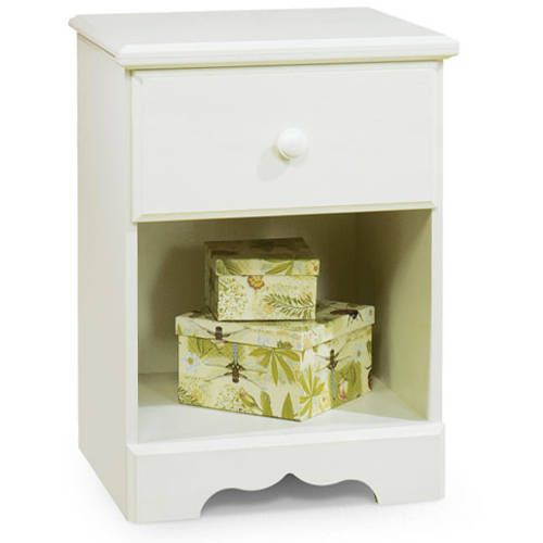 South Shore Summer Breeze 1-Drawer Kids' Nightstand, Multiple Colors