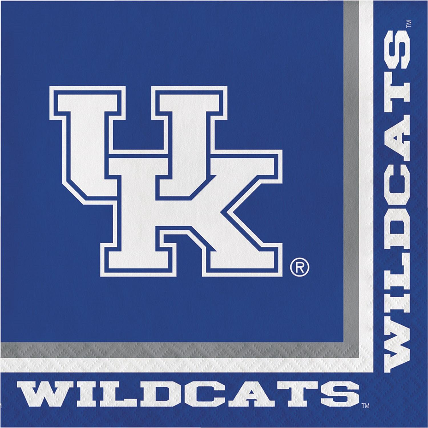 University of Kentucky Napkins, 20 count