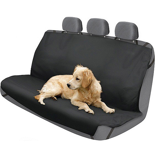 Who-Rae 2Air Rear Pet Car Seat Cover Protector, Black