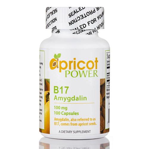 B17 (Amygdalin) 100 mg - 100 Capsules by Apricot Power