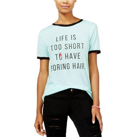 3a49231e24f Dreamworks Womens Trolls Ringer Graphic T-Shirt mintblue L - Juniors ...
