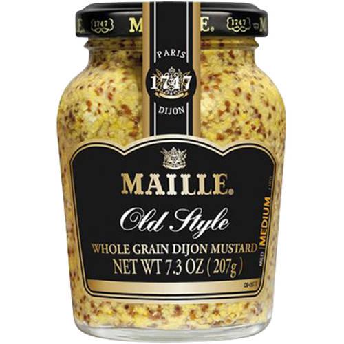 Maille Old Style Whole Grain Dijon Mustard, 7.3 oz