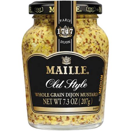Maille Old Style Whole Grain Dijon Mustard, 7.3 oz - Walmart.com