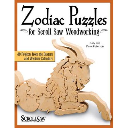 Zodiac Puzzles for Scroll Saw Woodworking : 30 Projects from the Eastern and Western Calendars](Western Craft)