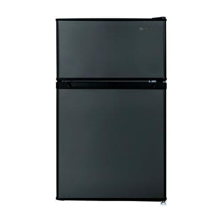 Daewoo RTO32ERSLE 3.2 Cu Ft. Compact Refrigerator   Dark