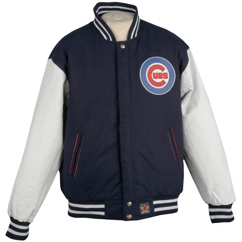 JH Designs - Men's MLB Chicago Cubs Varsity Coat