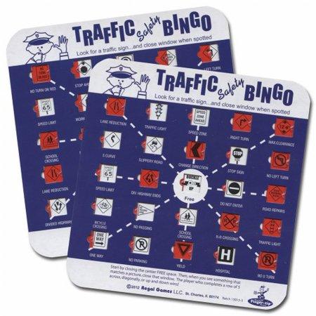Halloween Bingo Cards For Preschool (Regal Games Traffic Safety Travel Bingo (2)