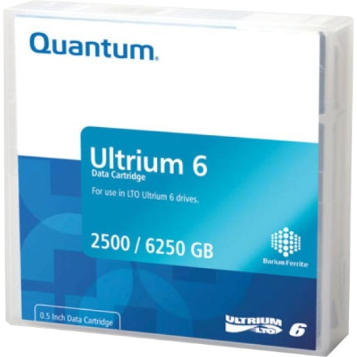 Quantum MR-L6MQN-01 Lto 6 Media Cartridge Must Be Drv Ordered In Multiples Of 20