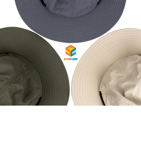 780067f7edd SUN CUBE Fishing Sun Hat for Men with Neck Cover Flap
