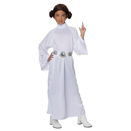 Girl's Deluxe Princess Leia Halloween Costume - Star Wars