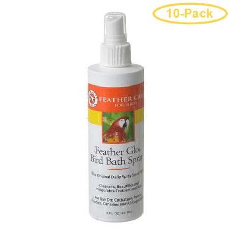 Gimborn Feather Glo Bird Bath Spray 8 oz - Pack of
