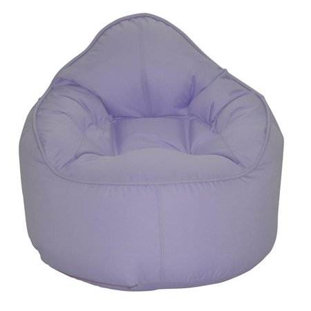 (Set of 2) Bean Bag Chair in Grey and Purple - image 1 of 7