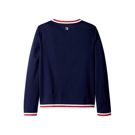 Fila Heritage Jacket Navy/White/Chinese Red
