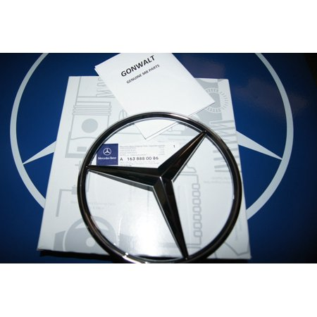 Mercedes Benz Grille Grill Emblem Star ML320 ML430 ML55 W163 1638880086 M Class (M Power Grill Emblem)