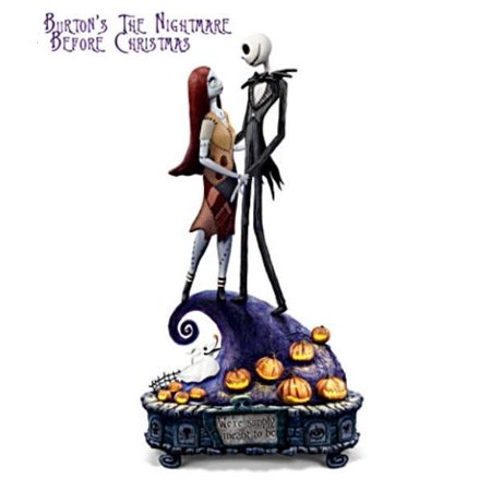 Nightmare Before Christmas Jack & Sally Simply Meant To Be Bradford Exchange - Walmart.com