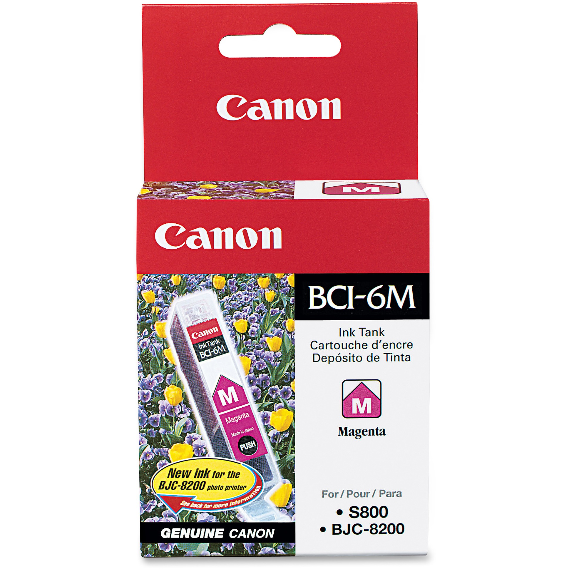 Canon, CNMBCI6M, BCI-6 Ink Tank, 1 Each