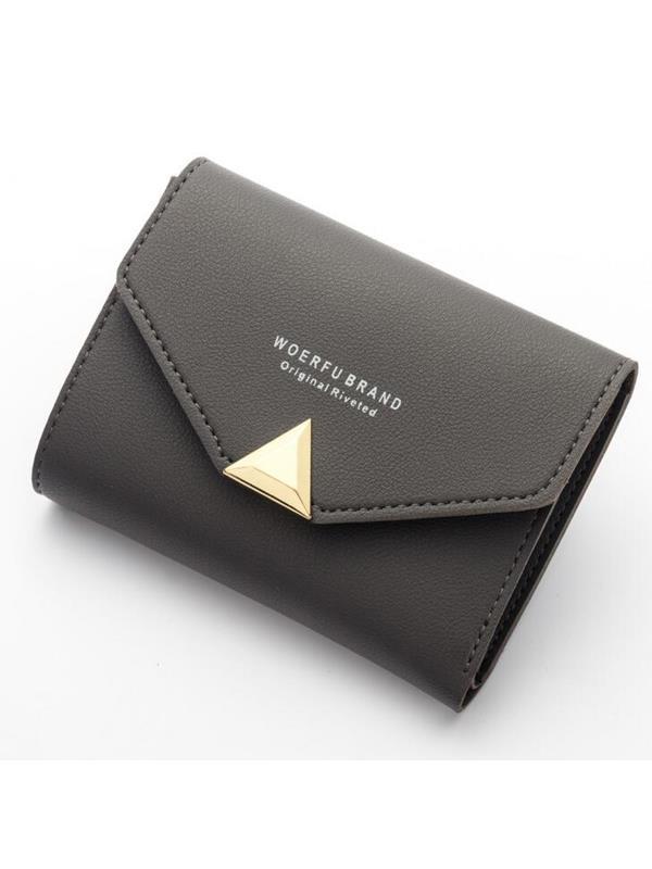 Meigar Women Lady Leather Bifold Wallet Clutch Handbag
