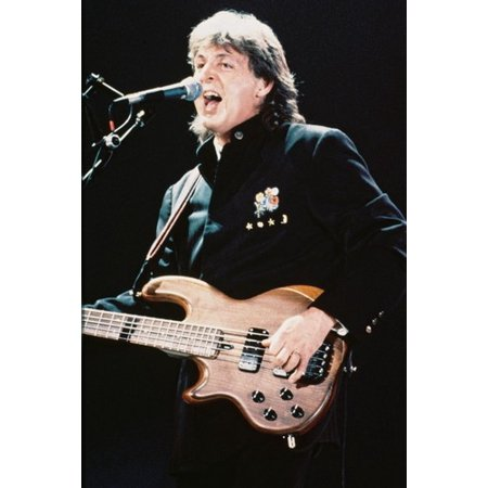 Paul Mccartney Rare Concert 24x36 Poster