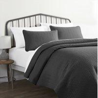 Noble Linens Premium Ultra Soft Herring Pattern Quilt Set