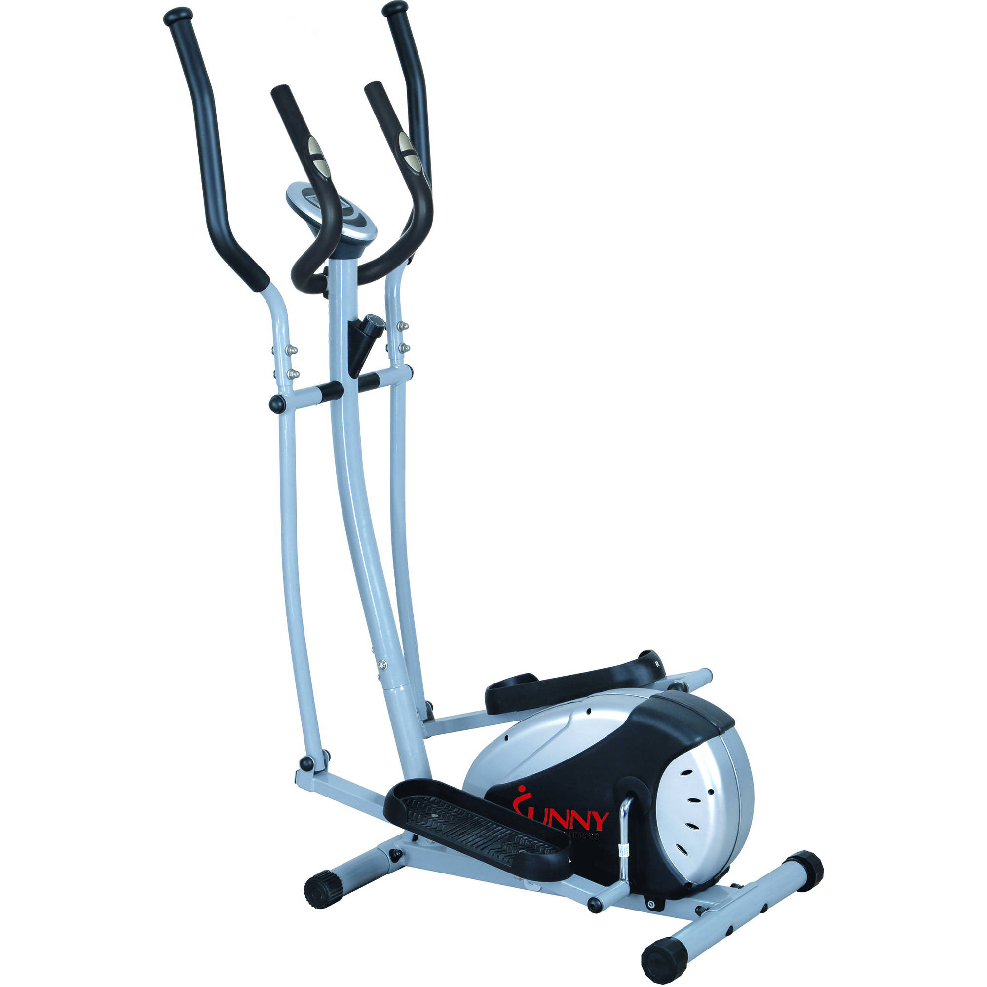Sunny Health and Fitness SF-E905 Magnetic Elliptical Bike