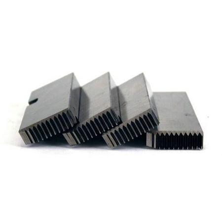 Steel Dragon Tools  47745 1 2   3 4   Alloy Rh Npt Universal Pipe Dies Fits Ridgid  811A   815A