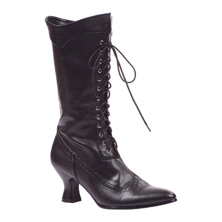 Amelia Black Boots Women's Adult Halloween Costume - Halloween Booth Game Ideas