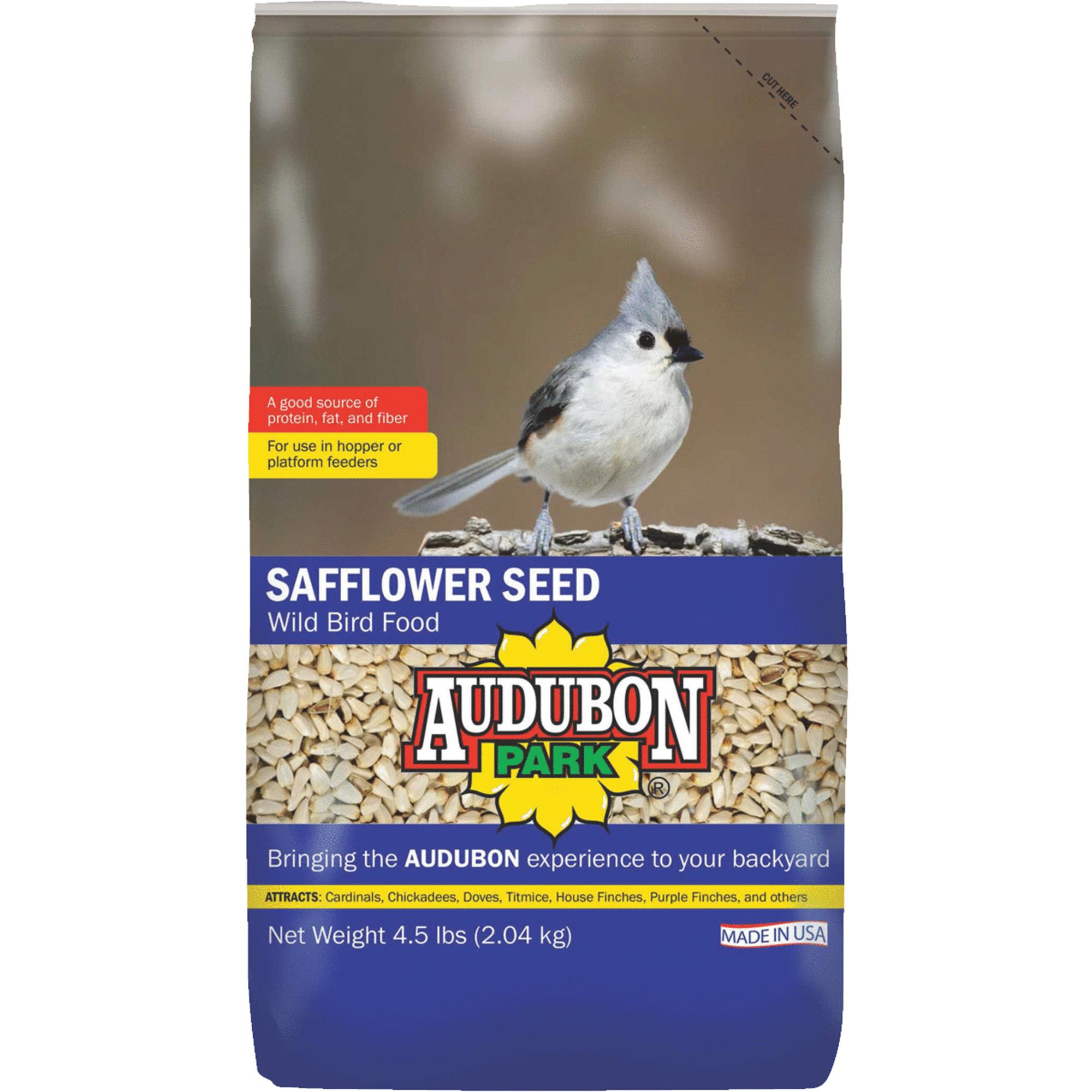 Audubon Park Safflower Seed Wild Bird Food by Global Harvest Foods