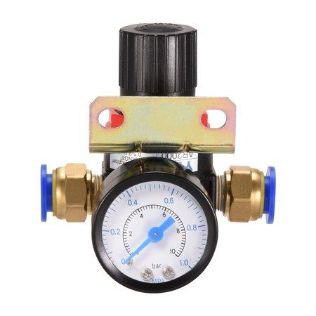 AR-2000 Pneumatic Air Filter Pressure Regulator 0.5-9.0 Kgf/cm2 , 1 Set - image 3 de 3