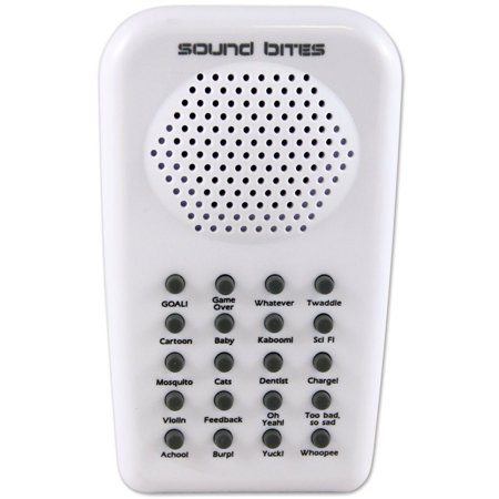 (Electronic Sound Bites 2.0 Handheld Prankster Machine With 20 Noise Effects, This palm-sized sound machine contains 20 realistic sound effects. By Westminster Inc.)