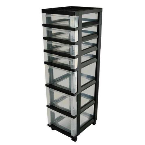 IRIS 116828 Cart with Organizer Top,7 Drawer