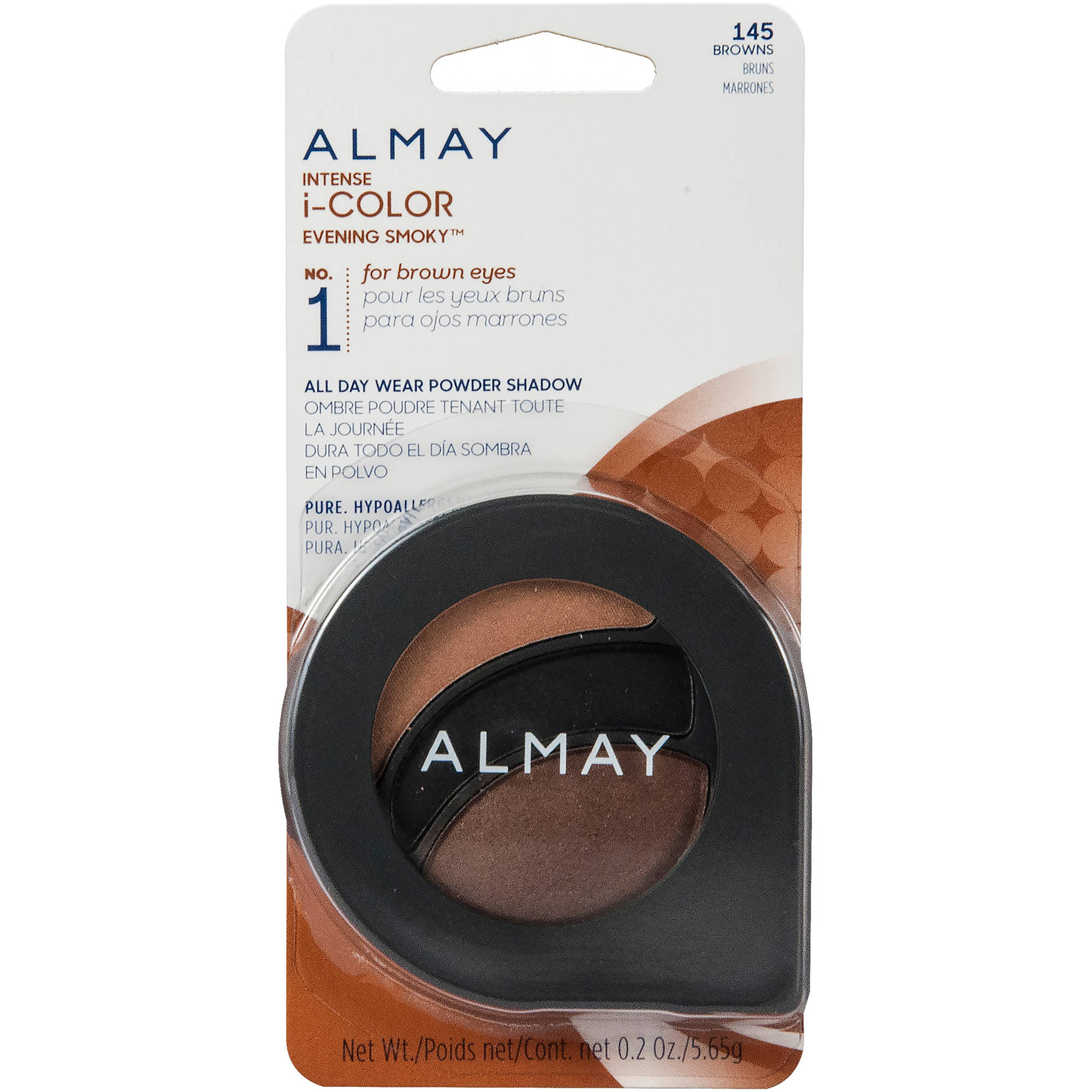 Almay Intense I-Color Evening Smoky All Day Wear Powder Eye Shadow, 0.2 oz