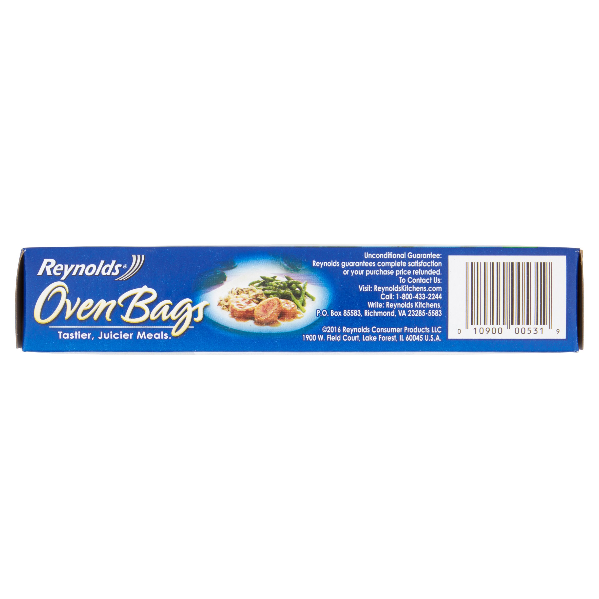 Reynolds Meats & Poultry Oven Bags, Large Sized, 5 Ct - Walmart.com